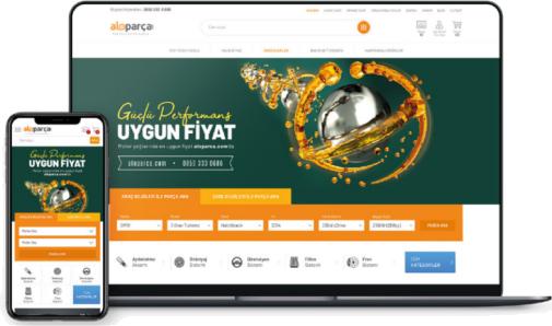 aloparca.com Web Tasarım