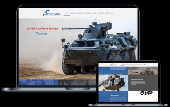 Ertech Global Web Tasarım