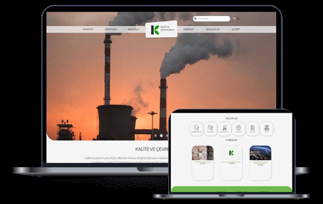 Kalite ve Çevre Kurulu Web Sitesi Çalışması
